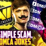 S1mple Fans Twitch Scammed, Dr Disrespect Says DMCA a Disaster